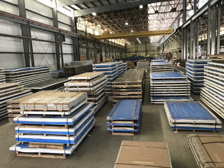 Cut to Length Aluminim & Stainless Steel Sheets
